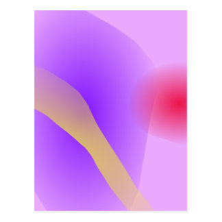 Abstract Lavender Postcard