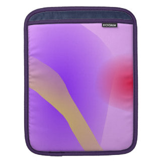 Abstract Lavender Sleeve For iPads