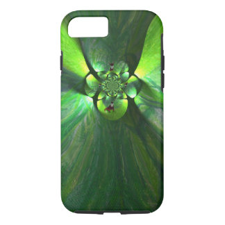 Abstract leaf fox art iPhone 7 case