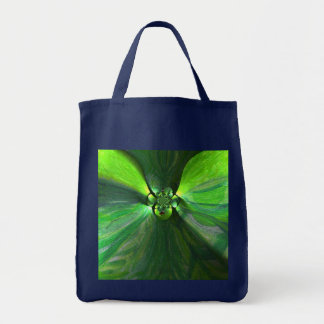 Abstract Leaf Fox Art Tote Bag