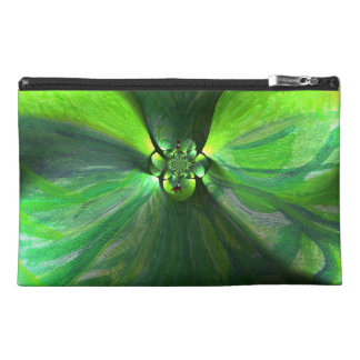Abstract Leaf Fox Art Travel Accessory Bag