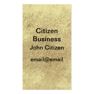 Abstract leather look textured business card