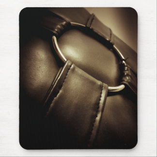 Abstract Leather Pillow Mouse Pad