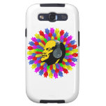 Abstract Lenin Head in Star Circle Samsung Galaxy SIII Cases