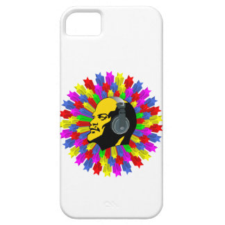 Abstract Lenin Head in Star Circle iPhone SE/5/5s Case