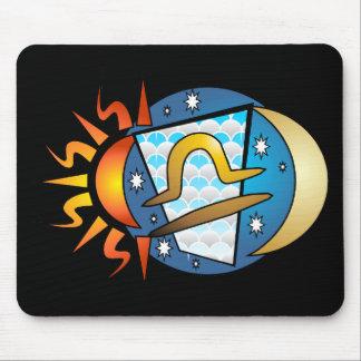Abstract Libra Mousepad