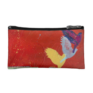 Abstract Lift Bag Cosmetic Bags