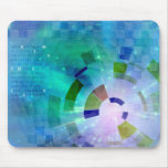 Abstract Light Mouse Pad