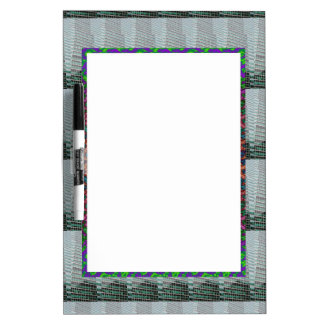 Abstract Light Shade Graphic design add TEXT PHOTO Dry-Erase Board