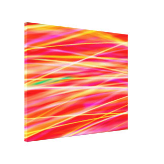 Abstract Light Steaks Canvas Print