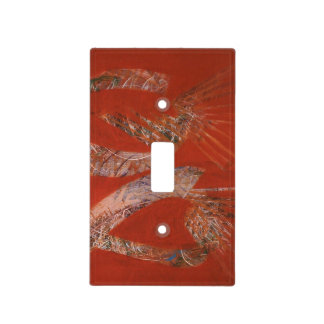 Abstract Light Switch Cover