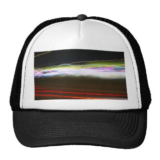 Abstract Light Trails Trucker Hat