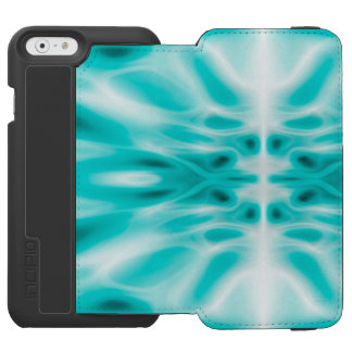 Abstract light trails iPhone 6/6s wallet case