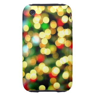 abstract light tree tough iPhone 3 cover
