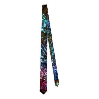 Abstract Lights Background Necktie