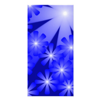 Abstract Lights Book Mark Card