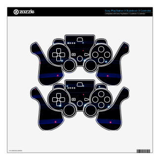 abstract-lights digital art wallpaper random space decal for PS3 controller