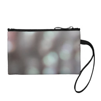 Abstract Lights in Soft Colors. Coin Wallet