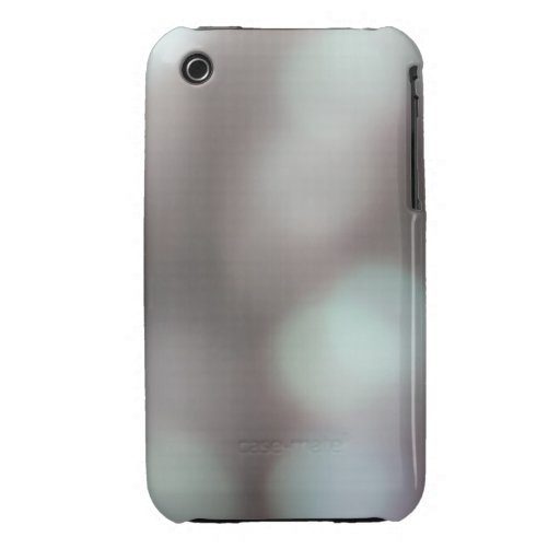 Abstract Lights in Soft Colors. iPhone 3 Case
