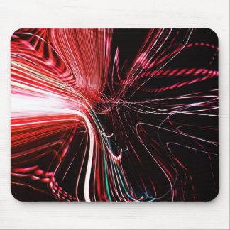 Abstract Lights Mouse Pad