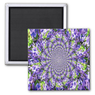 Abstract Lilac Magnet