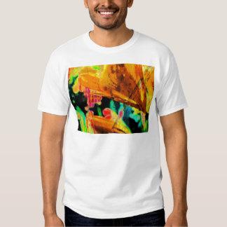 Abstract Lillies T Shirt