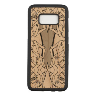 Abstract Line Artwork Carved Samsung Galaxy S8 Case