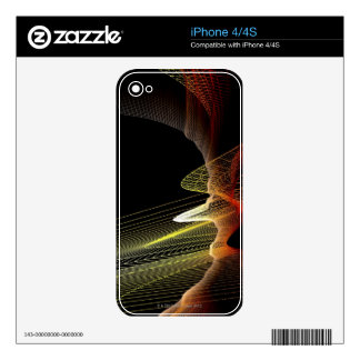 Abstract Line iPhone 4 Decal