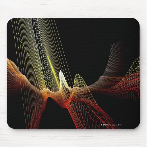 Abstract Line Mouse Pads