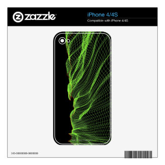 Abstract Line Pattern 2 Decals For The iPhone 4S
