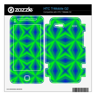 Abstract line pattern skins for HTC T-Mobile g2