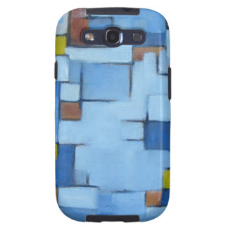 Abstract Line Series Blue 2 Galaxy S3 Cover