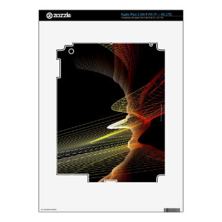 Abstract Line Skins For iPad 3