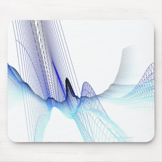 Abstract Lines 4 Mouse Pad