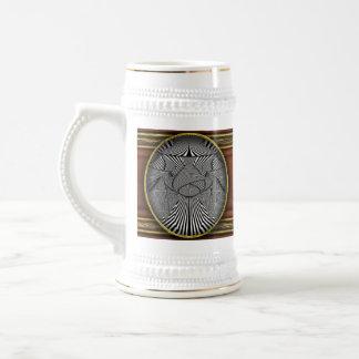 Abstract - Lines - Bad Dog Coffee Mugs