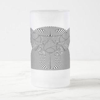 Abstract - Lines - Bad Dog Mug