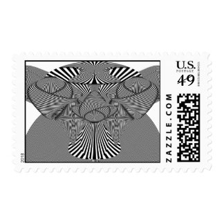 Abstract - Lines - Bad Dog Postage