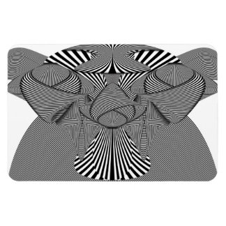 Abstract - Lines - Bad Dog Magnet