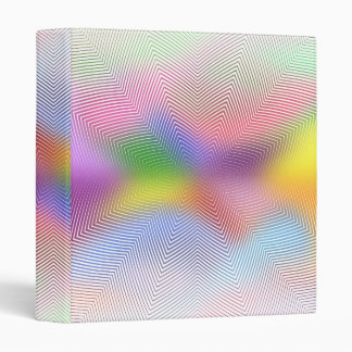 Abstract Lines & Colors: Custom Binder
