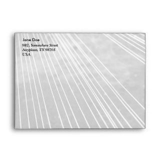 Abstract lines envelope