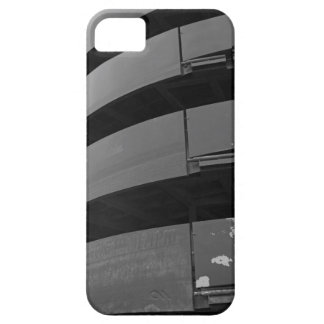 Abstract Lines in black and white iPhone SE/5/5s Case