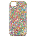 abstract lines iPhone 5C cover