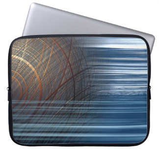 Abstract Lines Laptop Bag Laptop Computer Sleeve