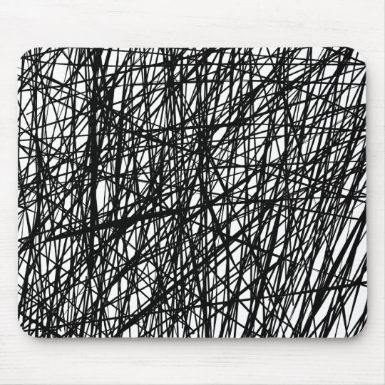 Abstract Lines Mouse Pad