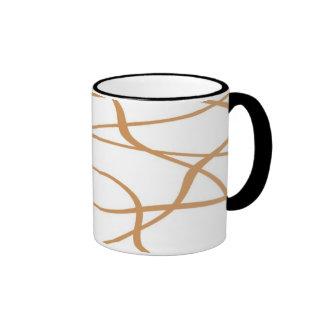 Abstract lines - Mug - Colour: Cream
