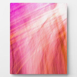 abstract lines plaque