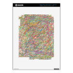 abstract lines skins for iPad 3