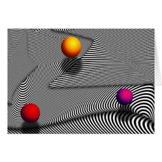 Abstract - Lines - That's a moire Card
