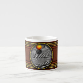 Abstract - Lines - That's a moire Espresso Cup