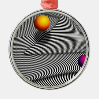 Abstract - Lines - That's a moire Christmas Ornament